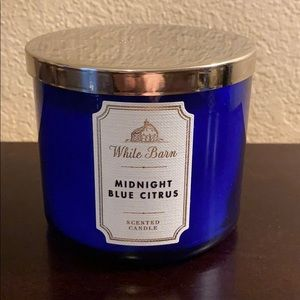 Midnight Blue Citrus Bath & Body Works Candle
